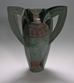 vessel with large handles